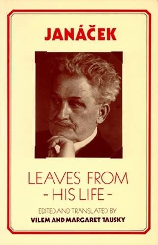 9781871082081: Janacek: Leaves from His Life