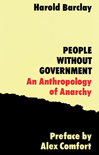 9781871082166: People without Government: An Anthropology of Anarchy