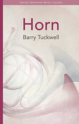 9781871082425: Horn (Yehudi Menuhin Music Guides)