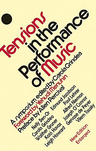 9781871082593: Tensions in the Performance of Music: A Symposium