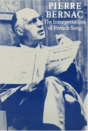 9781871082630: The Interpretation of French Song
