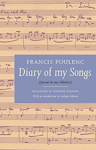 Diary of My Songs: Poulenc, Francis