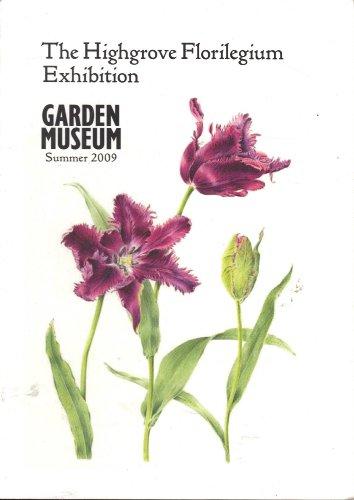 9781871118759: The Highgrove Florilegium Exhibition (Garden Museum Summer 2009)