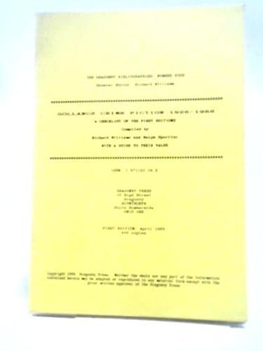 GOLLANCZ CRIME FICTION 1928-1988: A CHECKLIST OF: Williams, Richard and