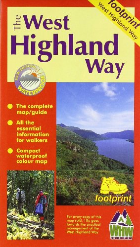 9781871149500: West Highland Way: Map/Guide (Footprint)