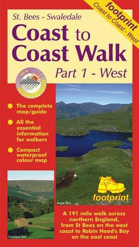 Coast to Coast Walk: St.Bees to Swaledale Pt. 1 (Long Distance Walks Maps): Footprint