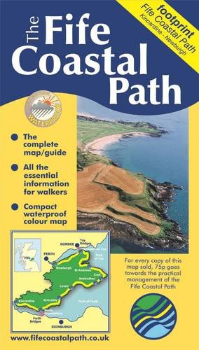 9781871149838: Fife Coastal Path (Footprint Map & Guide)
