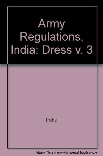 Army Regulations, India: Dress v. 3: India