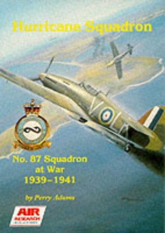 Hurricane Squadron No 87: Squadron at War 1939 1941: Adams, Perry