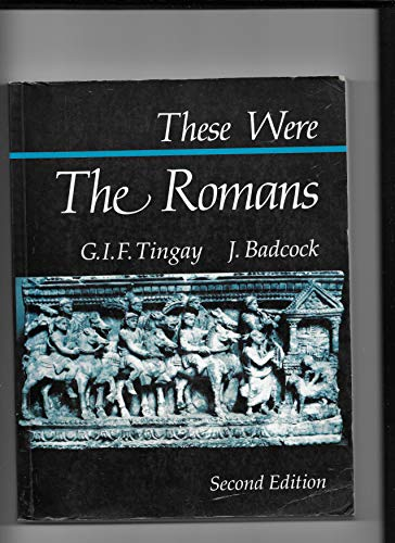 9781871402001: These Were the Romans