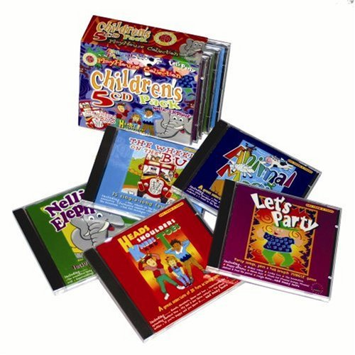 """9781871412925: Playhouse Collection: """"Let's Party"""", """"Animal Magic"""", the """"Wheel's on the Bus"""", """"Nellie the Elephant"""", & """"Heads, Shoulders, Knees and Toes"""""""