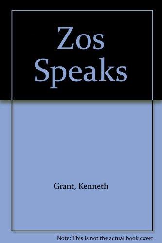 9781871438086: Zos Speaks