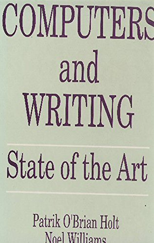 9781871516203: Computers and Writing: State of the Art