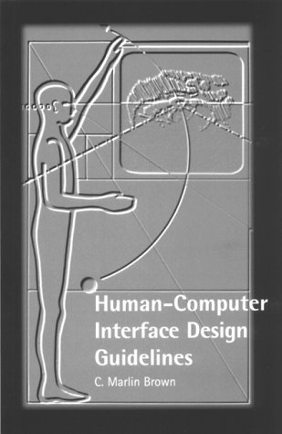 9781871516548: Human-Computer Interface Design Guidelines