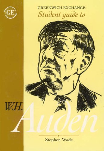 9781871551365: Student Guide to W.H. Auden (Student Guides)