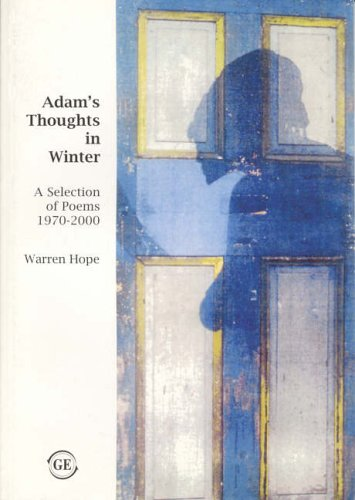 9781871551402: Adam's Thoughts in Winter: A Selection of Poems 1970-2000