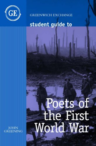 9781871551792: Student Guide to Poets of the First World War (Student Guides)