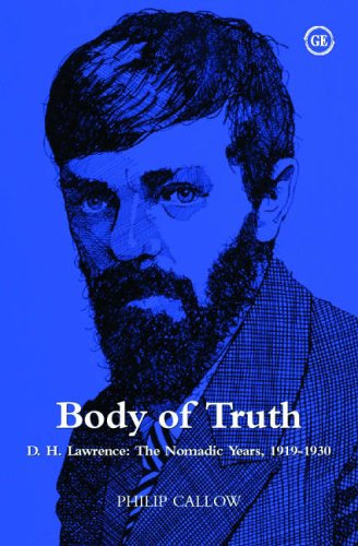 9781871551822: Body of Truth: D.H. Lawrence - The Nomadic Years 1919-1930