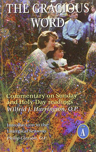 9781871552515: Gracious Word: Commentary on Sunday and Holy Day Readings: Year A
