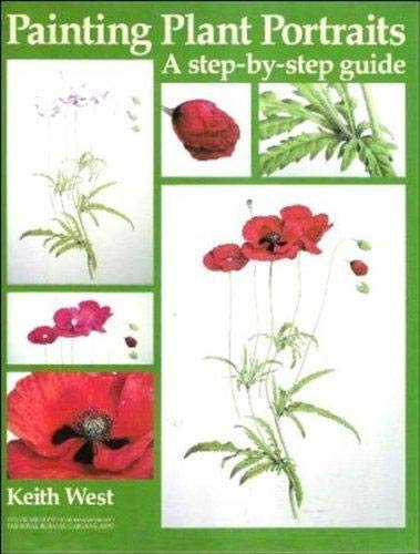 9781871569292: Painting Plant Portraits: A Step-by-step Guide (Draw Books)