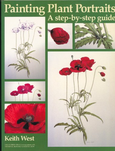 9781871569940: Painting Plant Portraits: A Step-by-step Guide (Draw Books)