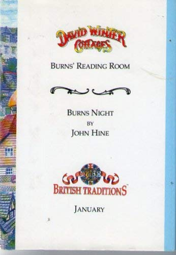 Burns' Reading Room & Burns Night: Hine, John