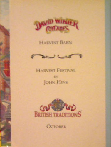 David Winter Cottages / Harvest Barn / Harvest Festival: John Hine