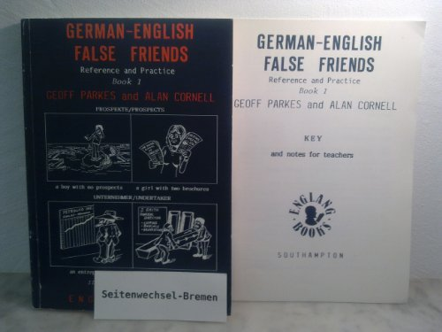 9781871819007: German-English False Friends: Bk. 1