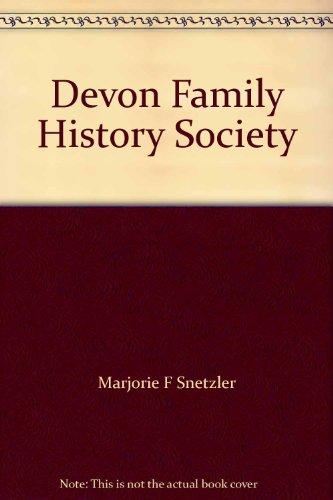 9781871822434: Devon Family History Society 1992: Members Interests