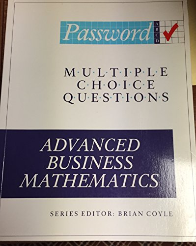 9781871824094: Advanced Business Mathematics (Password)