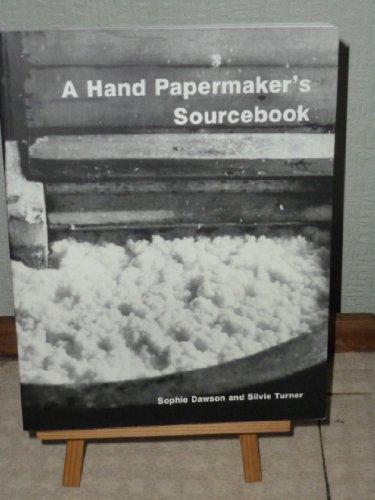 9781871831146: A Hand Papermaker's Sourcebook