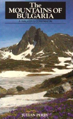 9781871890587: The Mountains of Bulgaria: A Walker's Companion