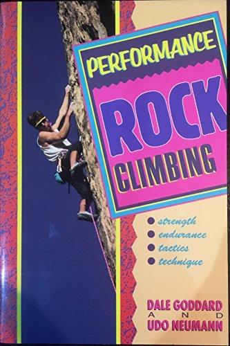 9781871890723: Performance Rock Climbing