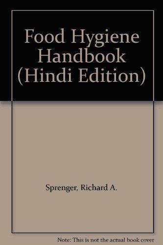 9781871912111: Food Hygiene Handbook (Hindi Edition)