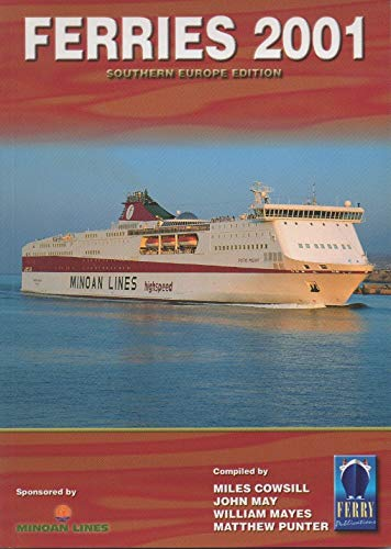 9781871947595: Ferries of Southern Europe 2001