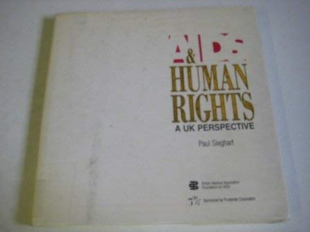 9781871973006: AIDS & human rights : a UK perspective