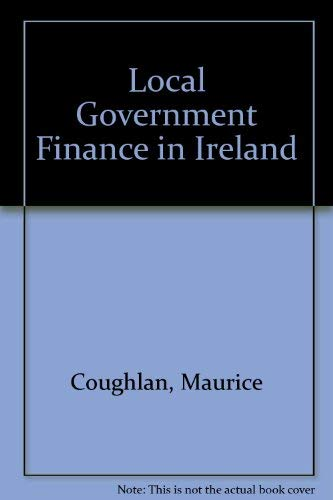 9781872002286: Local Government Finance in Ireland