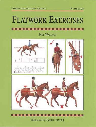 9781872082356: Flatwork Exercises (Threshold Picture Guides)
