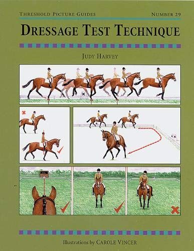 Dressage Test Technique (Threshold Picture Guide): Judy Harvey and