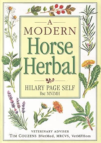 9781872119816: A Modern Horse Herbal