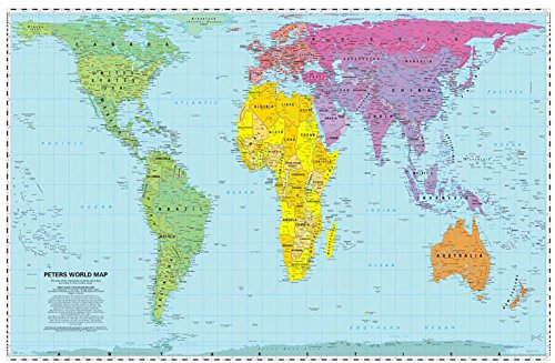9781872142029: WorldView: Peters World Map: Folded