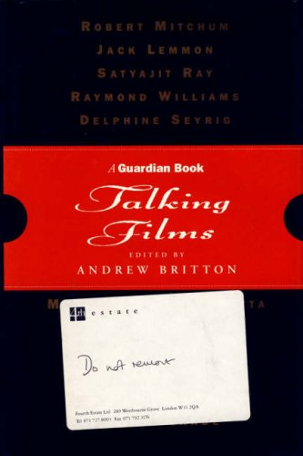 9781872180175: Talking Films: The Best of the Guardian Film Lectures