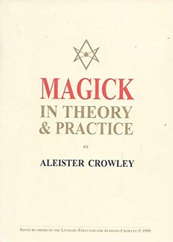 9781872189031: Magick in Theory and Practice