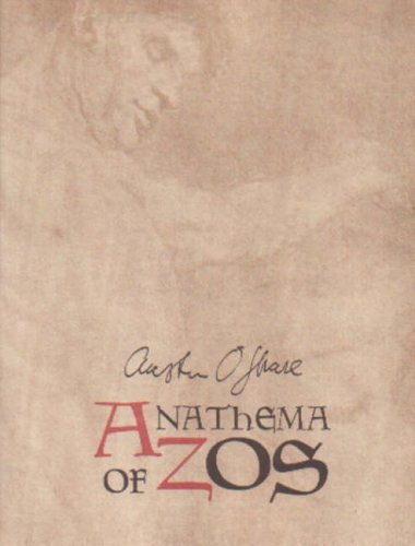 9781872189260: Anathema of Zos: The Sermon to the Hypocrites, an Automatic Writing