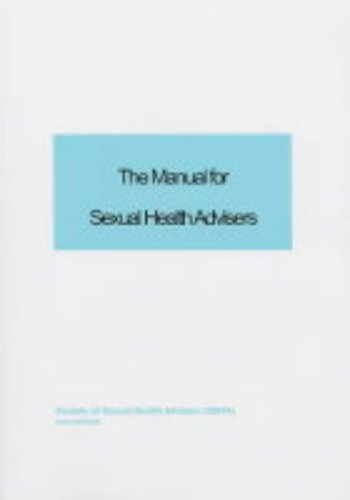 9781872278612: The Manual for Sexual Health Advisers