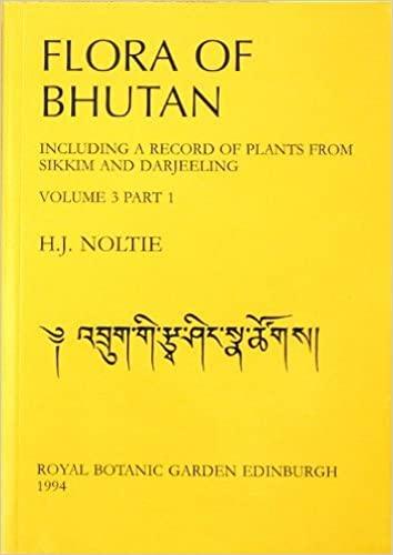 Flora of Bhutan: v. 3, Pt. 1: