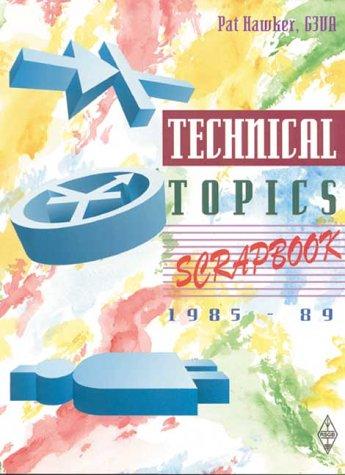 9781872309200: Technical Topics Scrapbook, 1985-1989