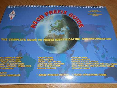 9781872309859: RSGB Prefix Guide