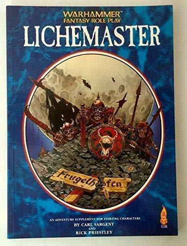 Lichemaster Warhammer Fantasy Roleplay: Rick Priestley, Carl