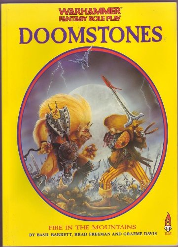 9781872372143: Fire in the Mountains (Doomstones)